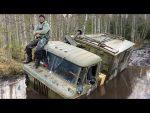 Как достать сломанный ГАЗ66?) сложная эвакуация) настоящий треш